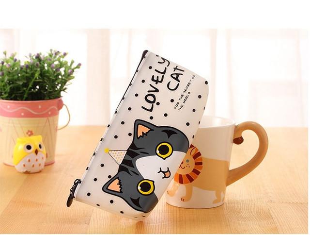 Силиконовый пенал Lovely Cat