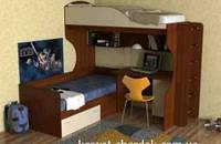 Кровать чердак , фото 1