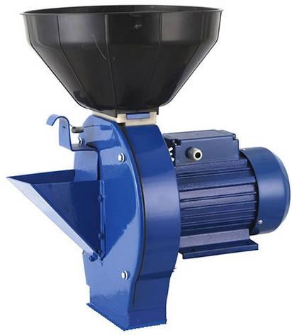Кормоизмельчитель (зернодробилка) 1,8 кВт МЛИН-ОК МЛИН-1 (зерно + корнеплоды), фото 2