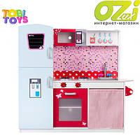 Огромная детская деревянная кухня Tobi Toys 1002
