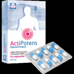 Actipotens капсулы для повышения потенции