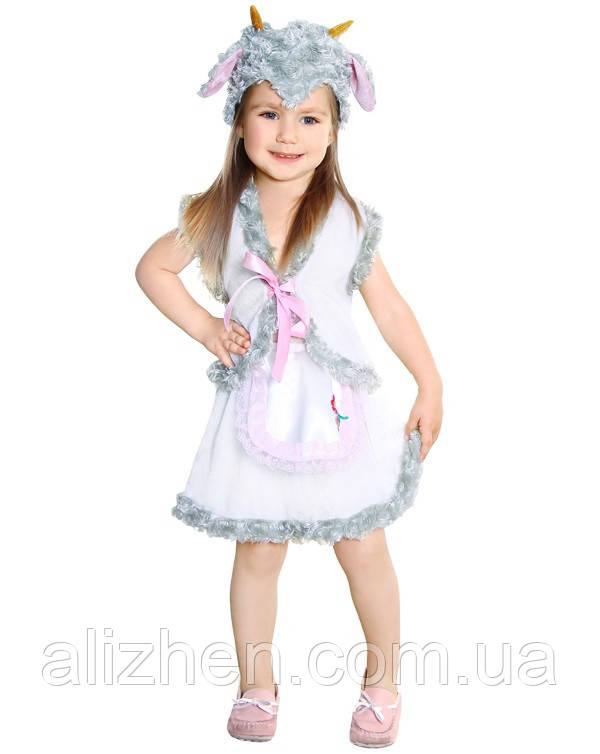 Овечка. Комплект - жилетка, юбка, головной убор (84100)