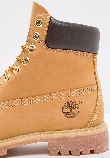 Мужские ботинки Timberland 6-inch Yellow (Тимберленд) с натуральным мехом, фото 2