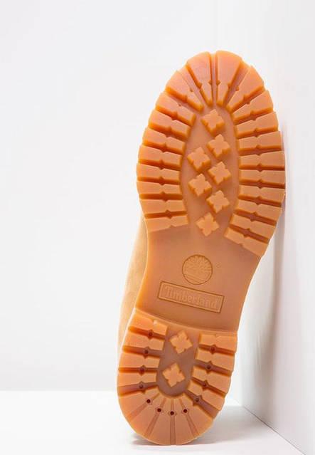 Мужские ботинки Timberland 6-inch Yellow (Тимберленд) с натуральным мехом, фото 3