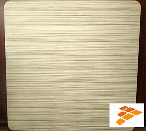 Столешница Эльба, цвет натуральное дерево 80*80 (СДМ мебель-ТМ)