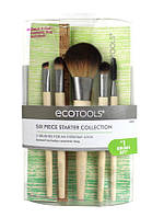 Набор кистей Ecotools для макияжа 5штук + косметичка