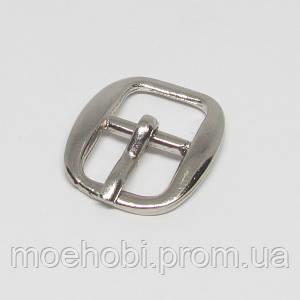 Пряжки для сумок (10мм) никель, 4773