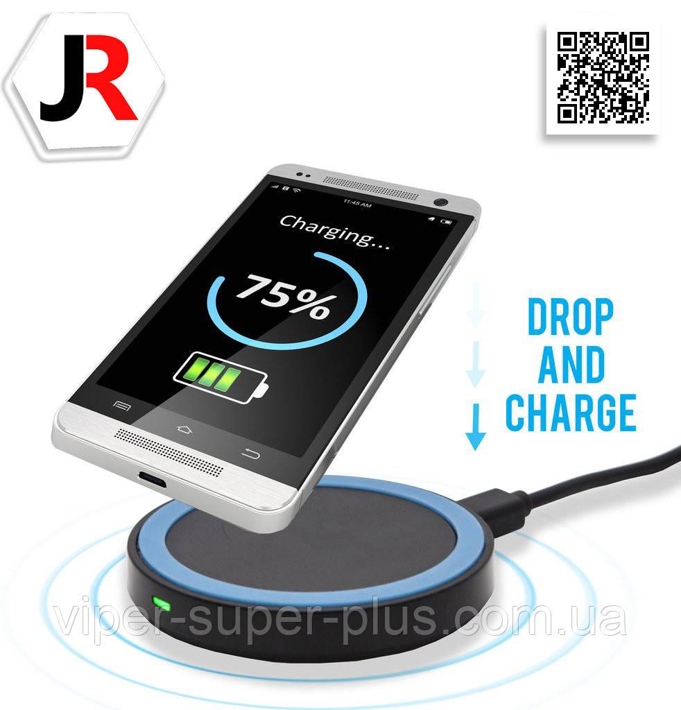 Бездротова зарядка для телефону і планшета JAKCOMBER YC-01