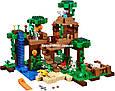 """Конструктор Bela 10471 """"Домик на дереве в джунглях"""" Майнкрафт, 718 деталей. Аналог Lego Minecraft 21125, фото 3"""