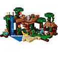 """Конструктор Bela 10471 """"Домик на дереве в джунглях"""" Майнкрафт, 718 деталей. Аналог Lego Minecraft 21125, фото 4"""