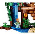 """Конструктор Bela 10471 """"Домик на дереве в джунглях"""" Майнкрафт, 718 деталей. Аналог Lego Minecraft 21125, фото 5"""