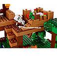 """Конструктор Bela 10471 """"Домик на дереве в джунглях"""" Майнкрафт, 718 деталей. Аналог Lego Minecraft 21125, фото 6"""