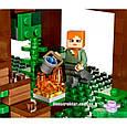 """Конструктор Bela 10471 """"Домик на дереве в джунглях"""" Майнкрафт, 718 деталей. Аналог Lego Minecraft 21125, фото 7"""