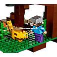 """Конструктор Bela 10471 """"Домик на дереве в джунглях"""" Майнкрафт, 718 деталей. Аналог Lego Minecraft 21125, фото 8"""