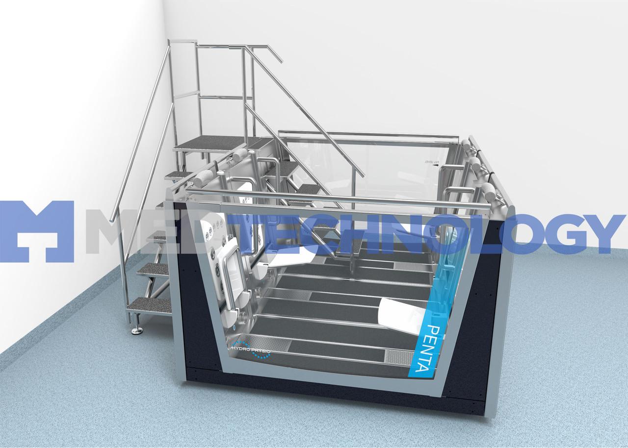 WELLBEING Duo & Penta (Hydro Physio) Автономные терапевтические и бассейны для фитнеса