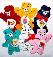 Набор №6нашивок медведи на карнавальный костюм 6 шт(10х11 см)