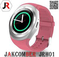 Смарт часы JAKCOMBER JRH01 стильно розового цвета
