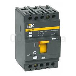 Автоматический выключатель ВА88-32 3P 125А 25кА, IEK