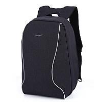 """Городской рюкзак для ноутбука 17"""" Тigernu (Тайгерну), черный цвет, фото 1"""