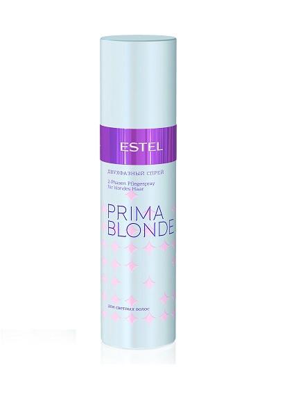 Двухфазный спрей для светлых волос 200 мл. Estel Prima Blond