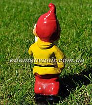 Садовая фигура Гном сторож малый, фото 3