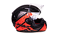 Мотошлем Ls2 FF353 Rapid Deadbolt (Black Orange), фото 2