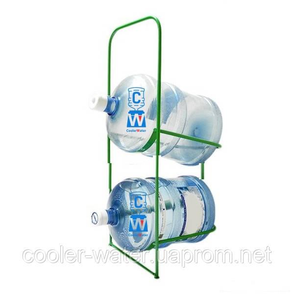 Подставка металлическая для 2-х бутылей СВП-2