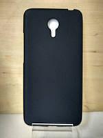 Силиконовый черный чехол Meizu M3 Note
