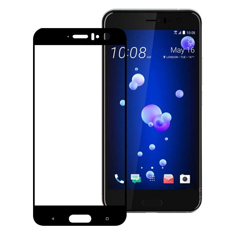e5d6f4af4c7a Защитное стекло HTC U11 Full cover черный 0,26мм в упаковке - 0629store.com