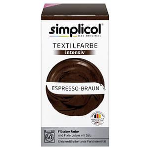 Краска Simplicol для смены цвета 150мл+400г закрепитель эспрессо, фото 2