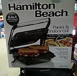 Электрический гриль (2 в 1) Hamilton Beach (барбекю-электрогриль), фото 2