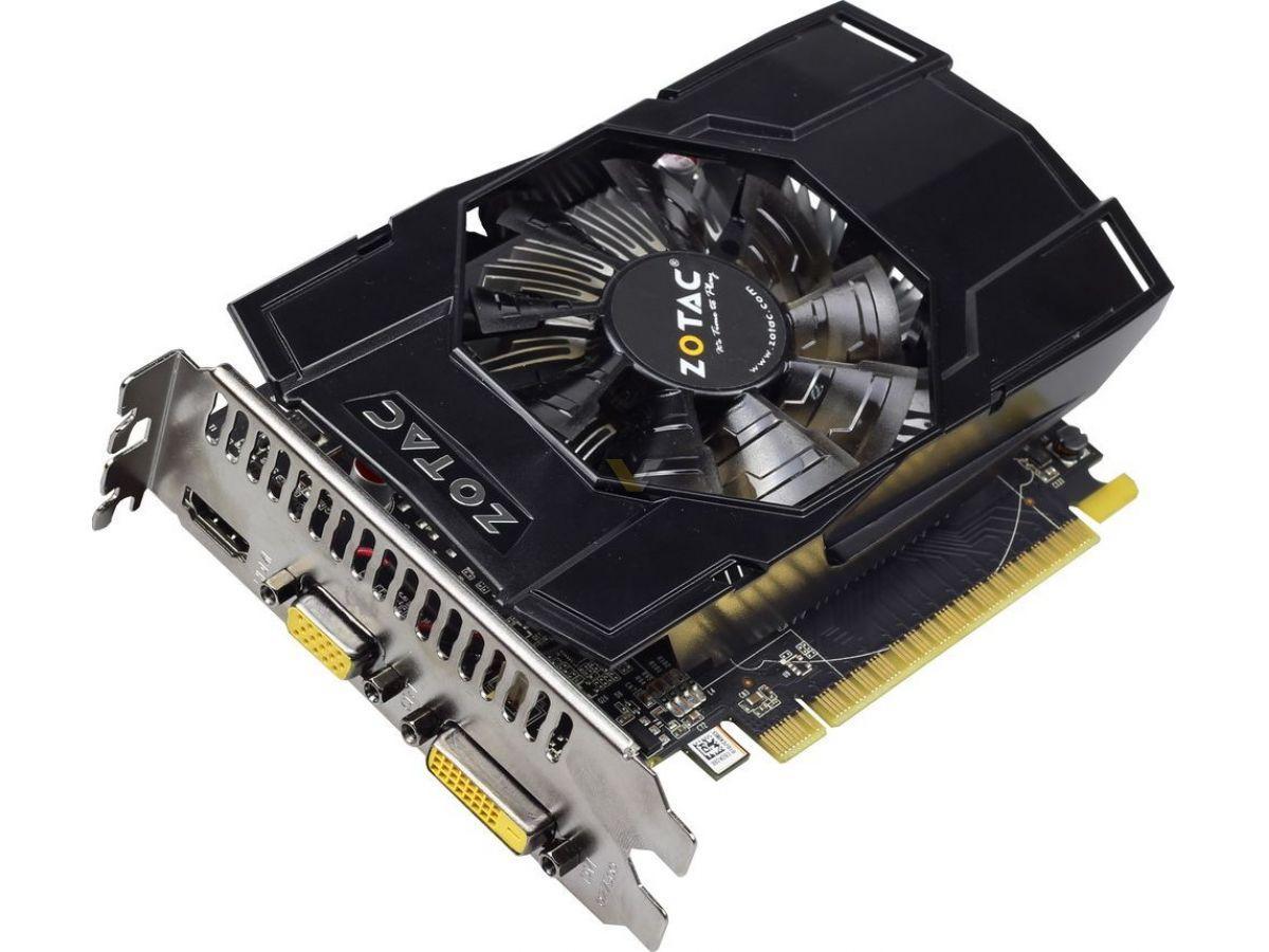 Zotac GeForce GTX750  1Gb DDR5 Б/У   Полностью рабочая!