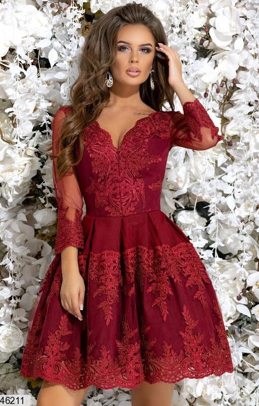 Шикарное женское вечернее платье размеры: 42,44,46