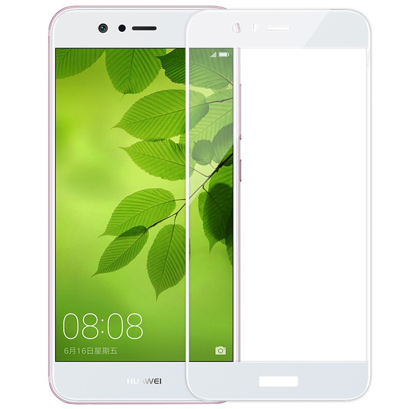 e2da538ff5fd Защитное стекло Huawei Nova 2 Plus   BAC-L03   BAC-L23 Full cover белый  0,26мм в упаковке