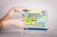 Перчатки медицинские хирургические стерильные припудренные «RiverGloves» (Игар, Igar), фото 1