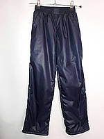 Подростковые брюки плащевка на флисе 116-140 см, фото 1