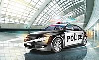 Фотообои флизелиновые Wizard+Genius 416x254 см Скоростная полицейская машина CN1975