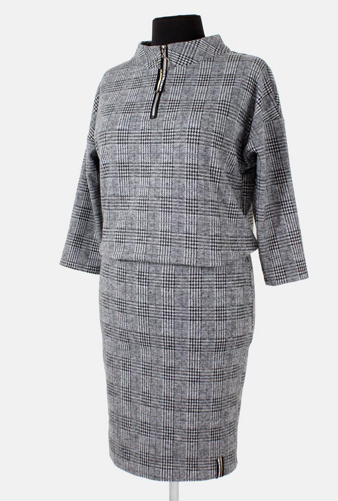 Платье с юбкой карандаш 46-52 р