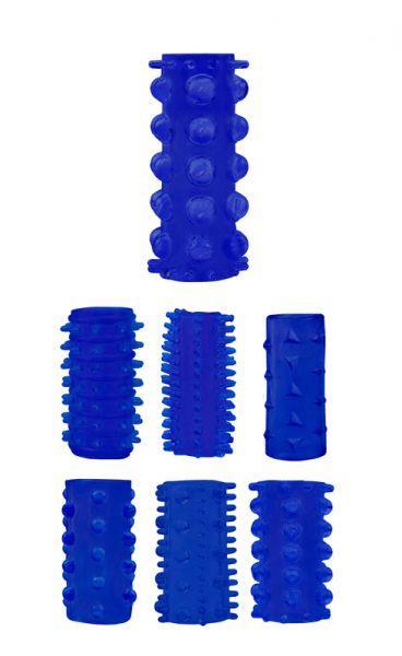 Набор насадок Penis Sleeve Kits-Blue