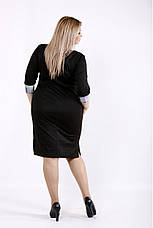 Деловое демисезонное женское платье размеры 42-74, фото 2