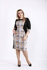 Деловое демисезонное женское платье размеры 42-74, фото 3