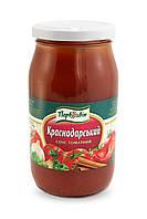 """Соус томатний """"Краснодарський""""  Склобанка 425г/9шт  ТМ """"Первоцвіт"""""""