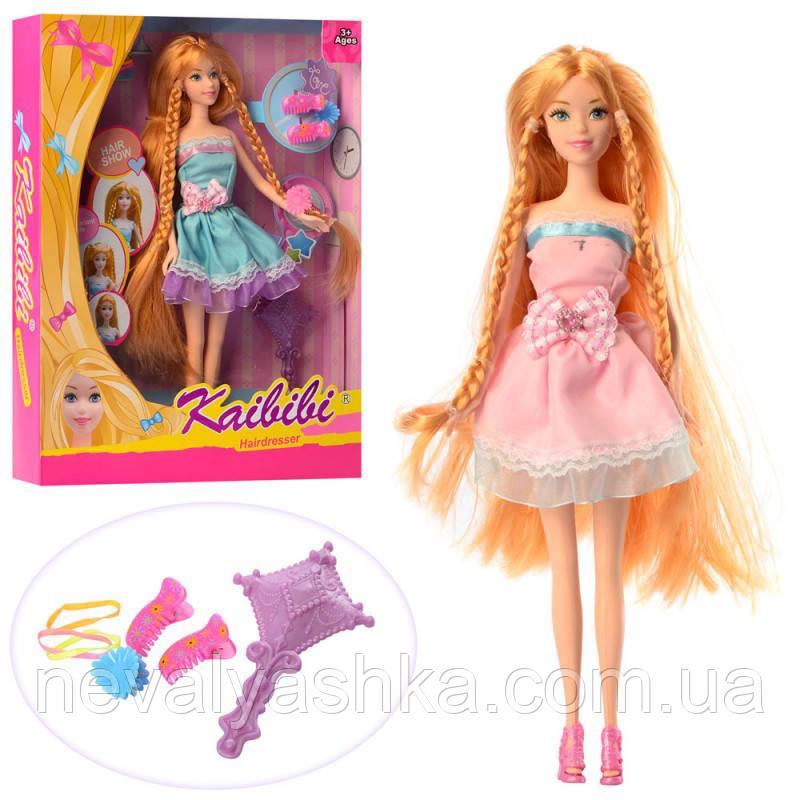 Кукла длинные волосы, заколочки, расческа, BLD168 009372