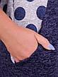 Женское платье трикотажное большие размеры: 52-64, фото 2