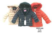 Куртки на меху для девочек оптом, Nature, 2-8 лет., арт. RYG-5522