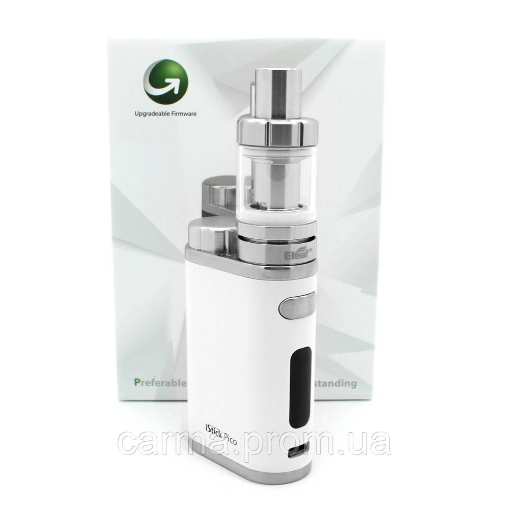 Электронная сигарета вейп iStick Pico 75W, белый ВЕЙП