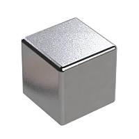 Неодимовый магнит куб L20*W20*H20 N38 (усилие 15 кг)