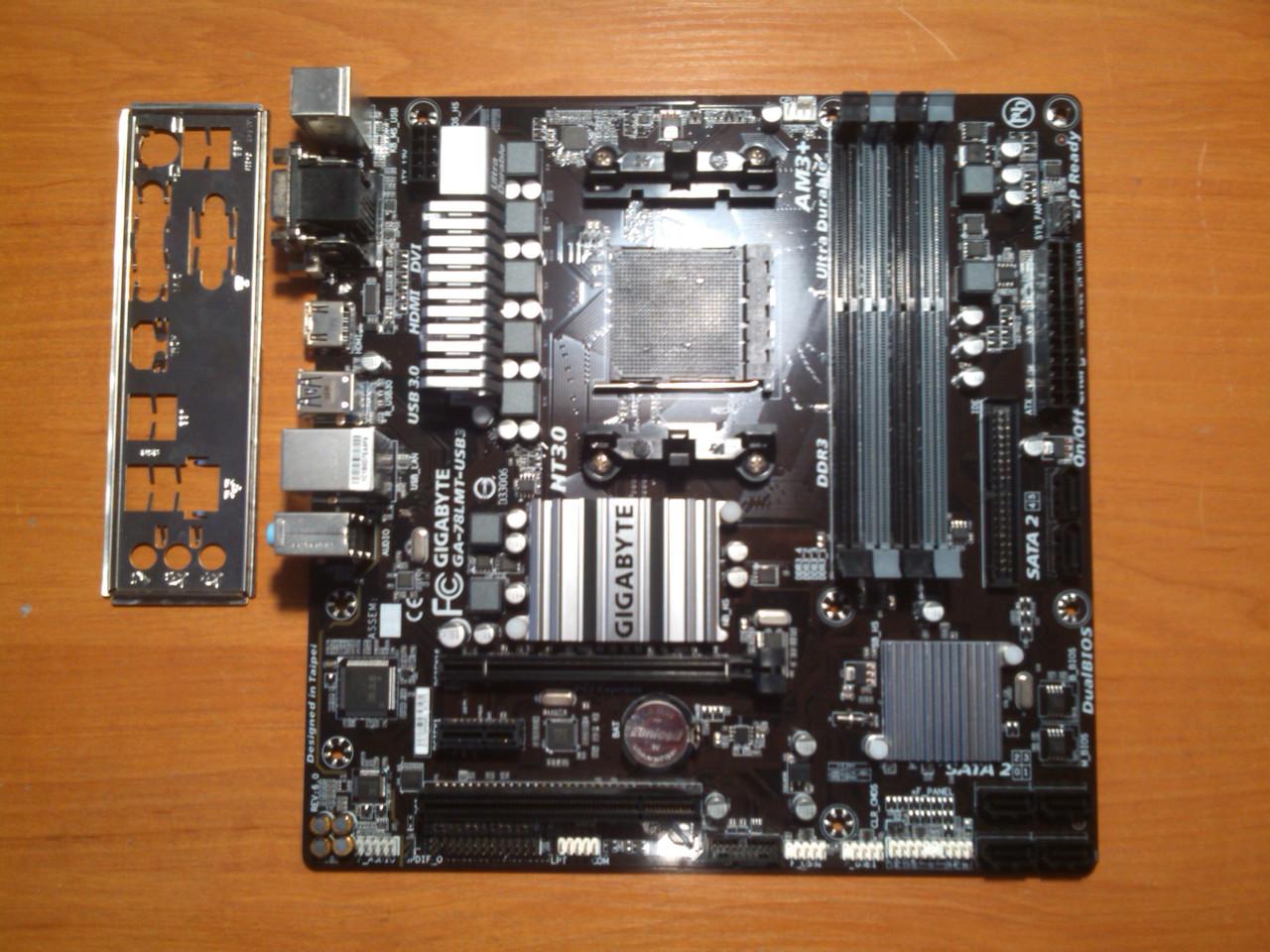 Gigabyte GA-78LMT-USB3 сокет AM3+ Гарантія!