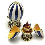 Сувенирная шкатулка яйцо в стиле Фаберже, фото 3
