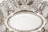 Антикварная ваза из серебра, фруктовница, конфетница, серебро 925, Англия,  Jenkins & Timm, Sheffield 1900 год, фото 3